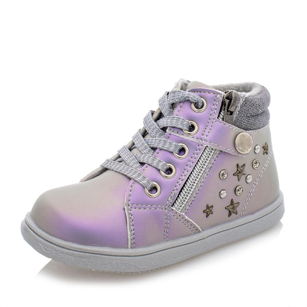 Ботинки для девочек Jong golf 20  серые 981123