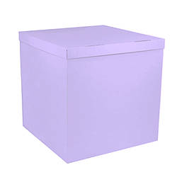 Коробка-сюрприз 700*700*700 мм, Сиреневая/Лавандовая, без печати, PREMIUM