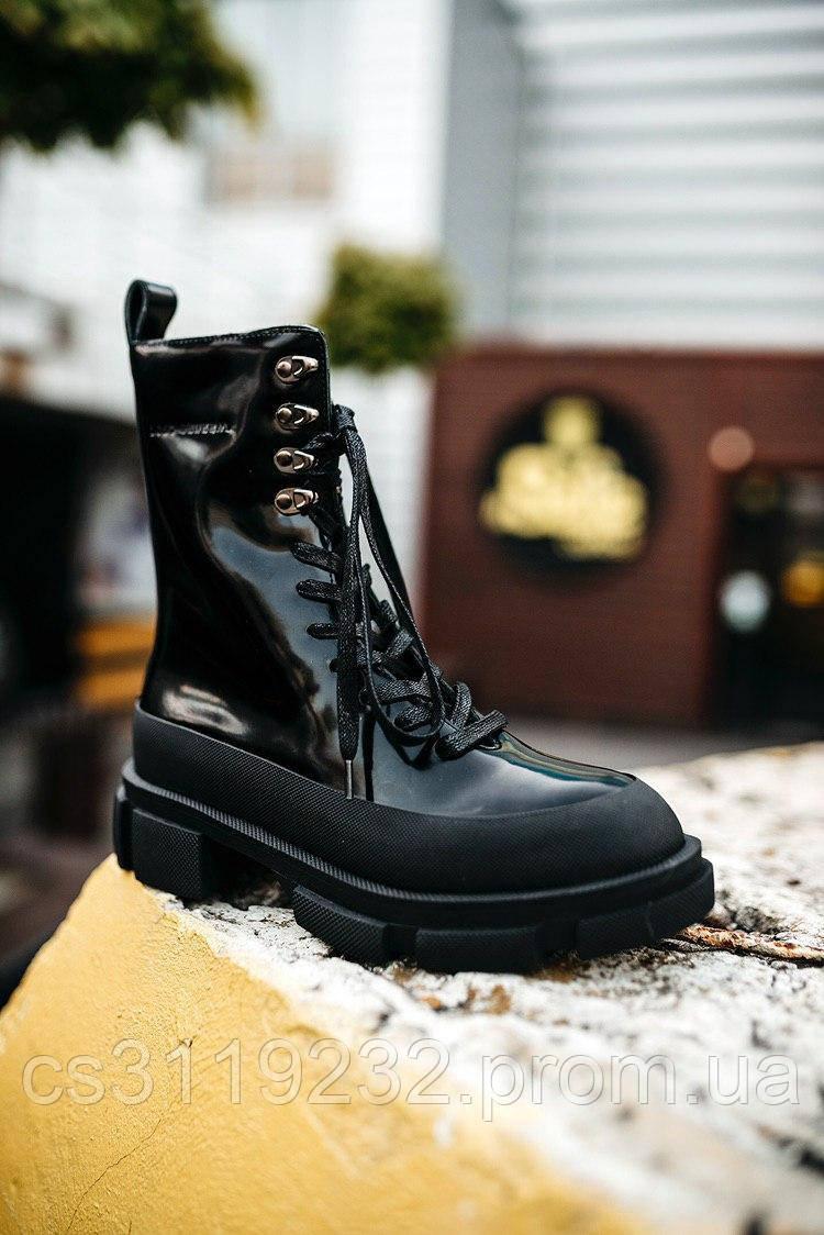 Жіночі черевики Both чоботи (чорні)