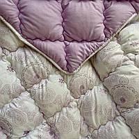 """Одеяло Евро размер 200*220 см. на холлофайбере """"ODA""""   Ковдра, наповнювач холлофайбер   Стеганое одеяло"""