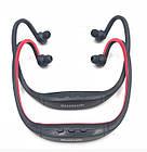 Спортивные беспроводные Bluetooth НАУШНИКИ с креплением на шее, влагонепроницаемые, фото 9