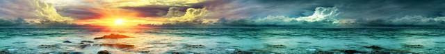 изображение рассвета солнца на море для фартука 3