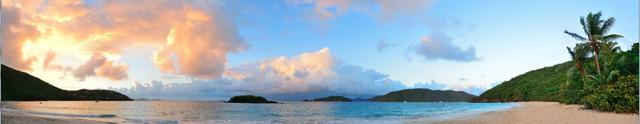 изображение рассвета солнца на море для фартука 5