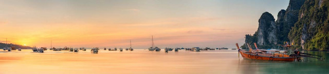 изображение рассвета солнца на море для фартука 6