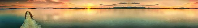 изображение рассвета солнца на море для фартука 7