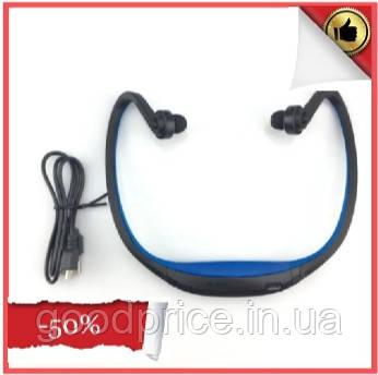 Спортивные беспроводные Bluetooth НАУШНИКИ с креплением на шее, влагонепроницаемые