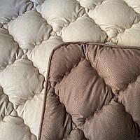 Одеяло на холлофайбере Евро размер 200*220 см. ODA   Ковдра, наповнювач холлофайбер   Стеганое одеяло