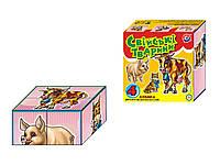 """Кубики для малышей """"Домашние животные"""" 1837 ТехноК"""""""