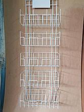 Стенд под специи на 15 карманов вертикальный с табличкой