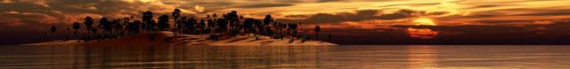 изображение рассвета солнца на море для фартука 8
