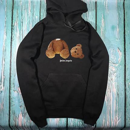 Толстовка чёрная Palm Angels kill bear, фото 2
