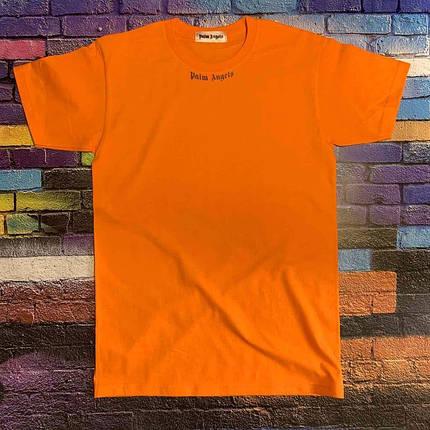 Футболка помаранчева Palm Angels Back • Палм Анджелс футболка, фото 2