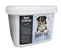 Корм Happy Dog Baby Starter 1,5 кг - первый твердый корм для щенков (Хэппи Дог бейби Стартер)