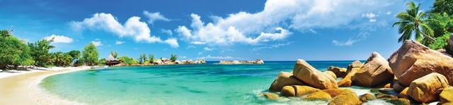 изображение залива моря и валунов для фартука 1120