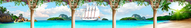 изображение залива моря для фартука 1160