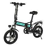 """Электровелосипед ZM TigerVolt 16, чёрный, колеса 16"""", моторколесо 250W, аккумулятор 36V 5,2Ah (187Wh)"""
