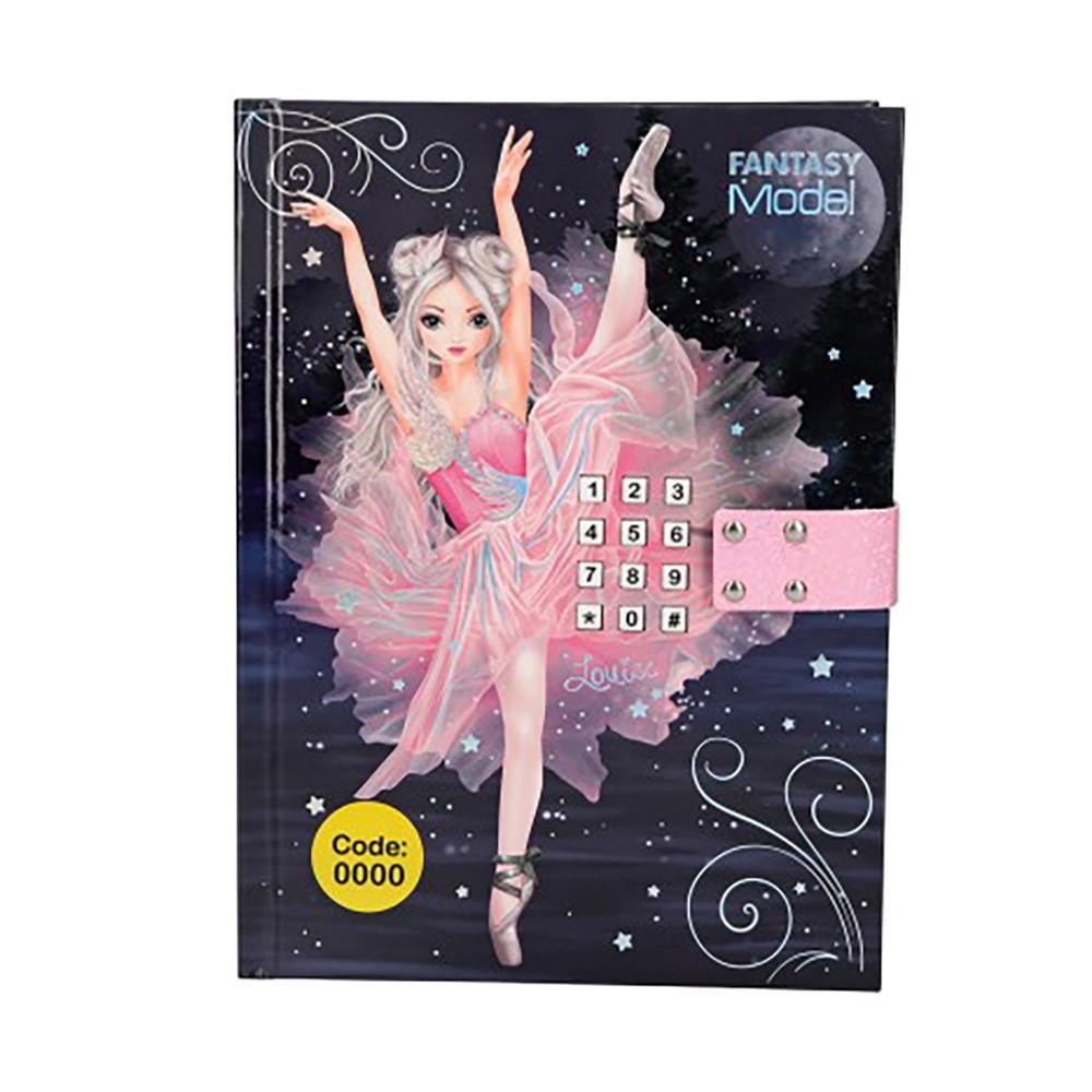 """Дневник для девочек """"Балет с музыкой"""" Fantasy Model"""