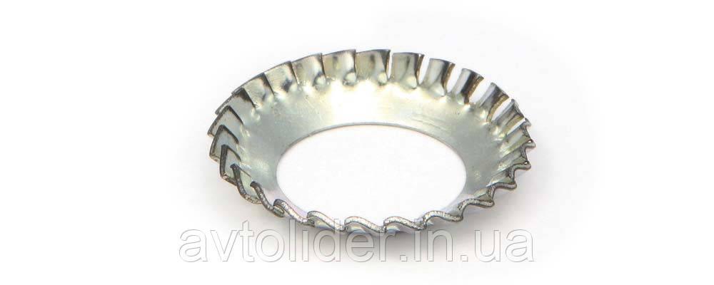DIN 6798 V (ГОСТ 10464-81) : нержавеющая шайба стопорная коническая с наружными зубцами