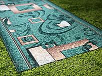 Войлочная ковровая дорожка 60! # 70 см