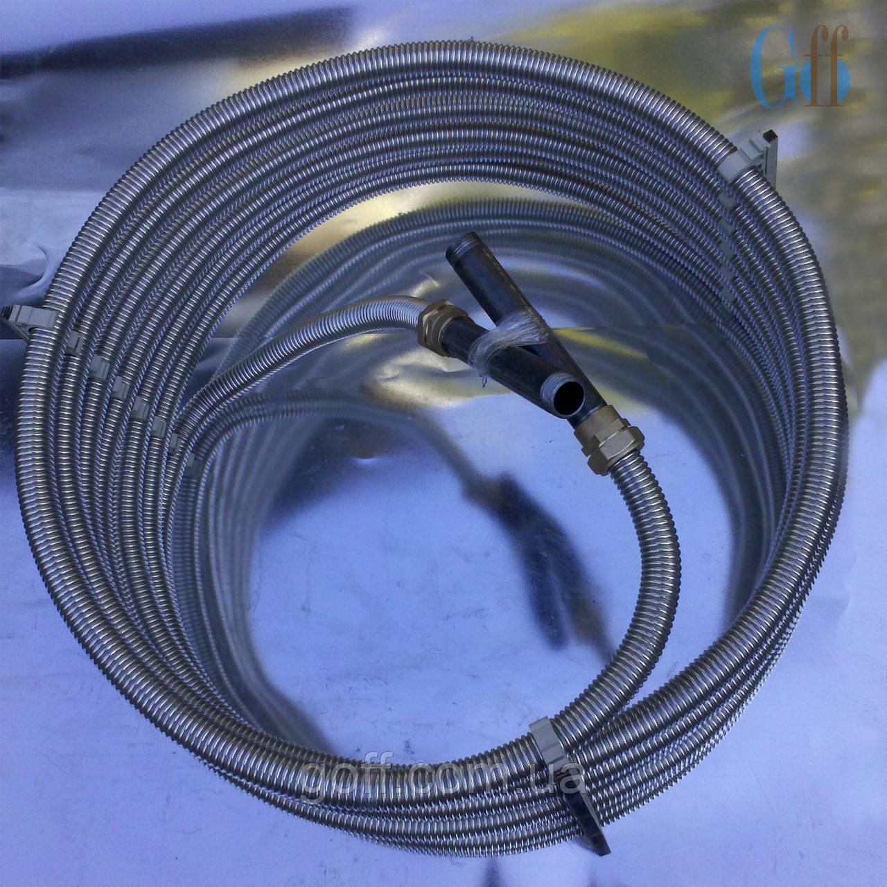 Теплообменник из нержавеющей гофрированной трубы Пластины теплообменника Анвитэк AMX 30 Ачинск