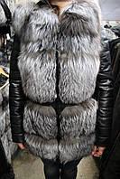 Куртка женская N-D1638/75 чернобурка