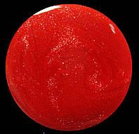 Гель-лак для ногтей SALON PROFESSIONAL № 211. Цвет- коралловый яркий с золотым микроблеском