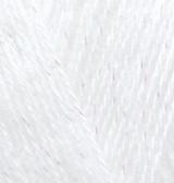 Пряжа для вязания Ангора голд СИМЛИ белый 55