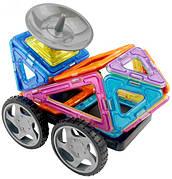 Конструктор Limo Toy магнитный 5004 «Автомобиль Луноход» 24 детали