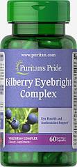 Puritan's pride Bilberry Eyebright Complex (60 капс.)