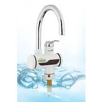 Проточный мгновенный водонагреватель для кухни Delimano AM237, электрический кран с подогревом, смеситель 220В