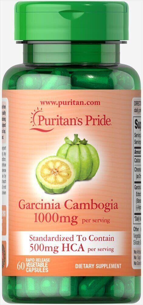 Puritan's pride Garcinia Cambogia 500mg 60 Vegi Caps