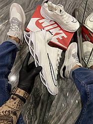 Чоловічі кросівки Nike Arrowz Blade Flame Running White (білі)