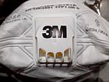 Респіратор маска FFP1 VFlex 3M 9161E з клапаном 15 штук в упаковка, фото 4
