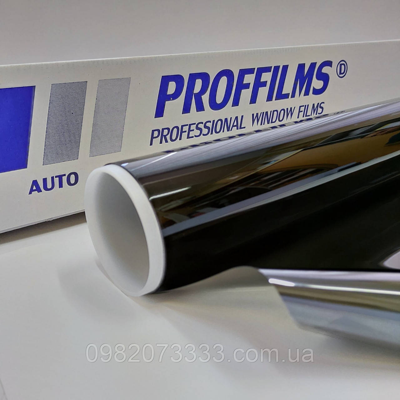 Автомобильная пленка ST CH 15% Proffilms (уголь) Плівка тонувальна для авто ширина рулона 1,524 (цена за кв.м)