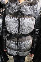 Куртка женская N-1326-1/72 чернобурка