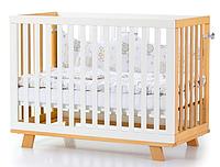 Детская кроватка Верес Соня ЛД1 Манхеттен с маятником Бело-Буковая