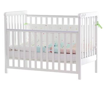 Детская кроватка Верес Соня ЛД12 на ножках Белая ЕС