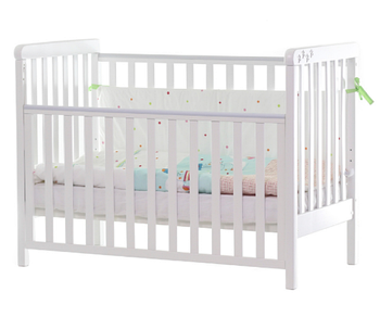 Дитяче ліжечко Верес Соня ЛД12 на ніжках Біле ЄС Новий функціонал Уцінка