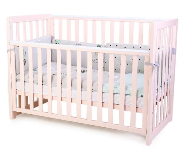 Детская кроватка Верес Соня ЛД13 Розовая без ящика