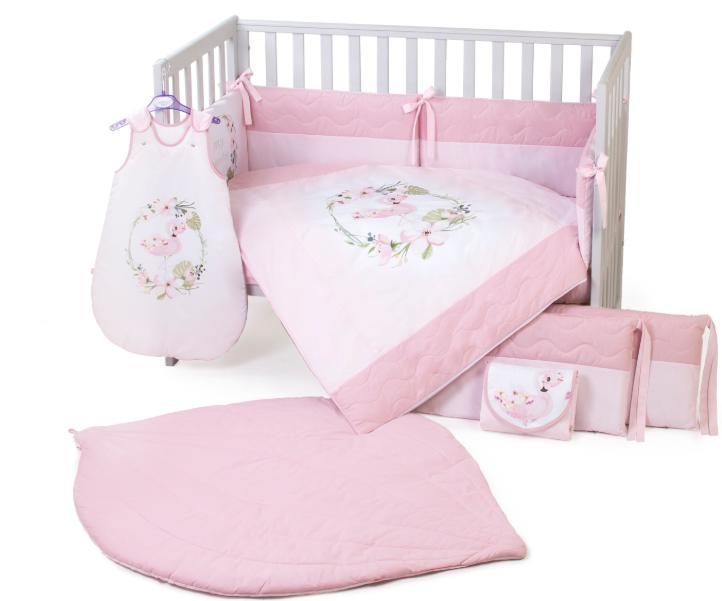 Постельный комплект Верес Flamingo pink 6 предметов