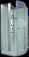 Душевая кабина с гидромассажной панелью CRW FTM62L левосторонняя, 1000х1000х2115 мм