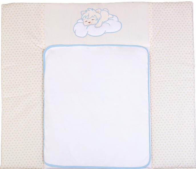Пеленальний матрацик Верес Sleepyhead blue 72х80 см Тканинний