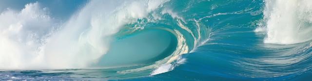изображение волны для фартука