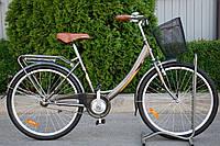 """Велосипед женский AIST JAZZ 1.0 """"26 CTB с корзиной, фото 1"""