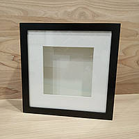 Глубокая рамка черная 25х25х4,5 см