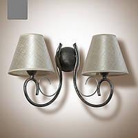 Бра металлическое 2 ламповое