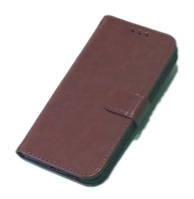 Чехол книжка для телефона Meizu Х8 коричневый, фото 1