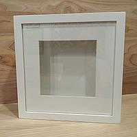Глубокая рамка белая 25х25х4,5 см