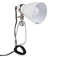 MTL-20 WHITE Настольная лампа на прищепке