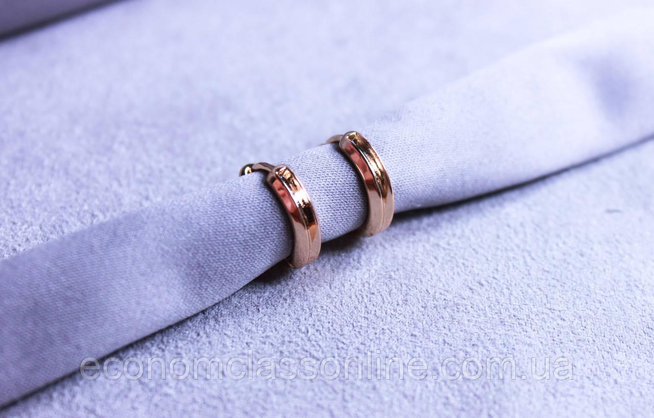Сережки мінімалізм фірми Xuping(color 78)
